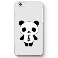 パンダ部長iPhone6ケース ホワイト