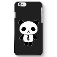 パンダ部長iPhone6ケース ブラック