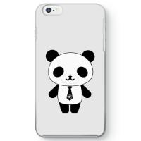 パンダ部長iPhone6 Plusケース ホワイト