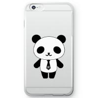 パンダ部長iPhone6s Plusケース クリア