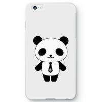 パンダ部長iPhone6s Plusケース ホワイト