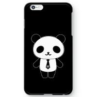 パンダ部長iPhone6s Plusケース ブラック