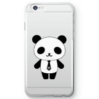 パンダ部長iPhone6sケース クリア