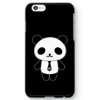 パンダ部長iPhone6sケース ブラック
