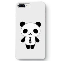パンダ部長iPhone7 plusケース ホワイト