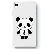 パンダ部長iPhone7ケース ホワイト