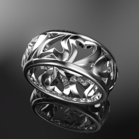 Heart of Eternity ring