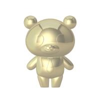 ゴールドパンダ部長フィギュア 18k仕様