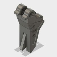 電動ハンドガン G18C用 ストレートトリガー