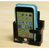iPhone5/SE~7plus手帳型用スタンド+車載ブラケット(半径144mm)