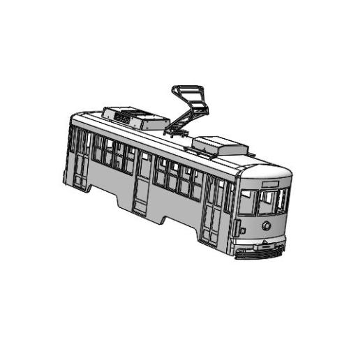 (Nゲージ)豊橋鉄道 モ3200形タイプ 組立てキット