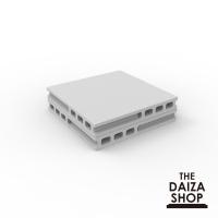コンクリートブロック調台座8cm