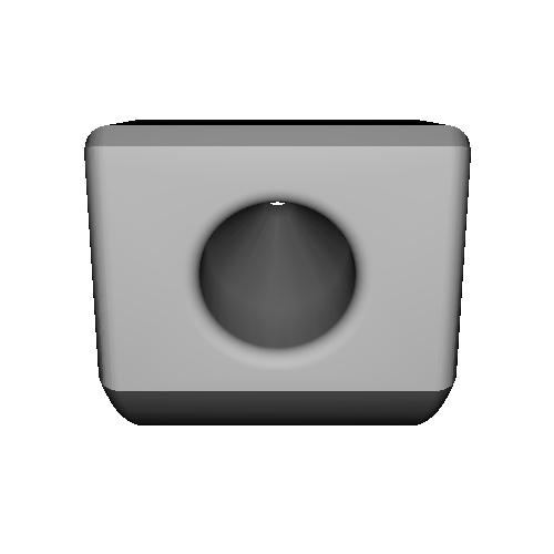 ペンスタンド 傾斜版 (Wacom Intuos 3D 付属ペン用)
