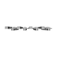 1/80スケール鉄道模型用4灯信号機16連(点灯化用)第1次改良品