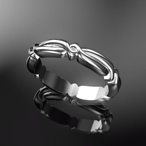 365日の結婚指輪 365-001 リングサイズ8