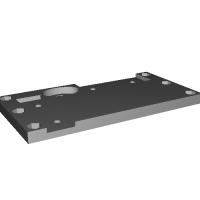 Abee製ACアダプタ(150W/130W/84W) SFX変換ブラケット(ベース部)