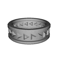 37 指輪 トリリアント>> 18号