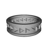 06 指輪 トリリアント>> 17号