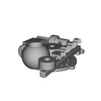 オリエント球体接続(鉄)>アンジェ変換アダプター