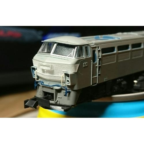 KAT※製EF66貨物更新車改造パーツセット(前面・クーラーパーツ)(1両分)
