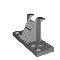 距離センサー(HC-SR04) レゴ・ブロック・マウンター
