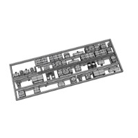 千代田線直通の青帯車輌の床下機器補足パーツ