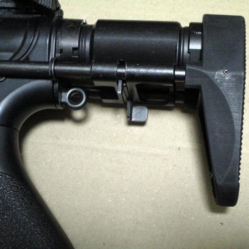 HK416C ストックパッド
