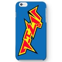 電気風ロゴ iPhone6 Plus