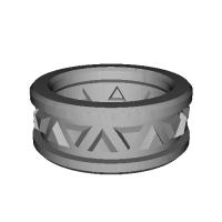 指輪 トリリアント▲▼ 5号