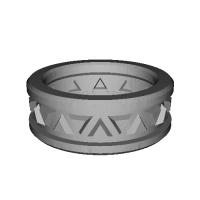 指輪 トリリアント▲▼ 11号