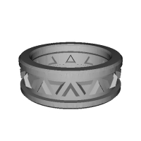 指輪 トリリアント▲▼ 12号