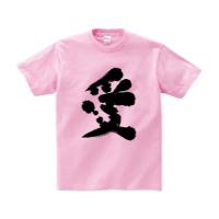愛Tシャツ S ピーチ