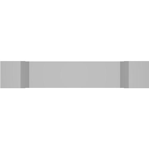 電専用ネームタグ プロトタイプ Type1 長辺40