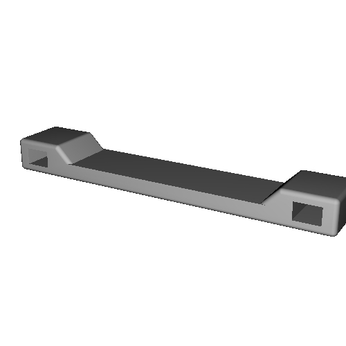 電専用ネームタグ プロトタイプ Type2-長辺40