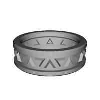 指輪 トリリアント▲▼ 18号