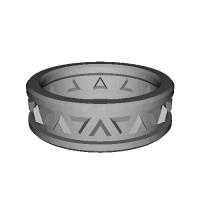 指輪 トリリアント▲▼ 20号