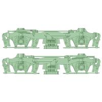 D-FS10-01:FS-10台車 初期型10両分【武蔵模型工房 Nゲージ 鉄道模型】