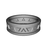 指輪 トリリアント▲▼ 21号