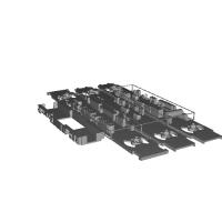 国鉄415系1500番台 50hz車 床下3両分 M車カバー1両