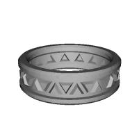 指輪 トリリアント▲▼ 25号
