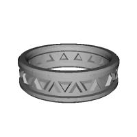指輪 トリリアント▲▼ 28号