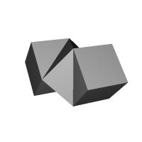 ジグザグ立方体