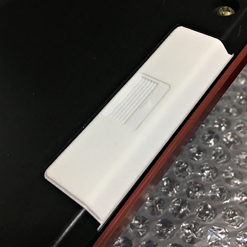 NEC PC-6601SR(Mr.PC)付属キーボード バッテリーカバー