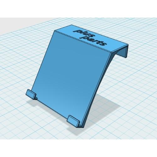 車内アクセサリー取付プレート(4個セット):カラー造形対応