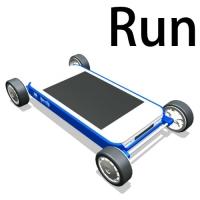 Run(iPhone5専用ケース)