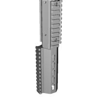 東京マルイmp7a1専用keymod5インチ3面レールver18.5