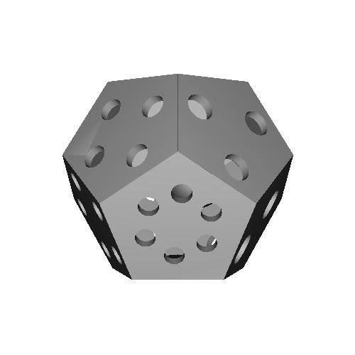 正十二面体サイコロ
