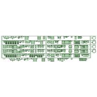 8111F 6両分 床下機器【武蔵模型工房 Nゲージ 鉄道模型】