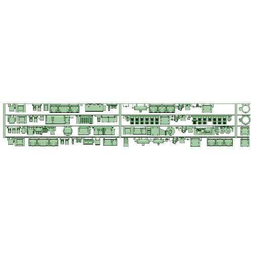 8198F 4両分 床下機器【武蔵模型工房 Nゲージ 鉄道模型】