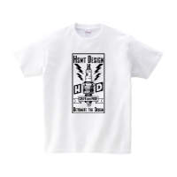 HSMT deign PLUG Tシャツ M ホワイト
